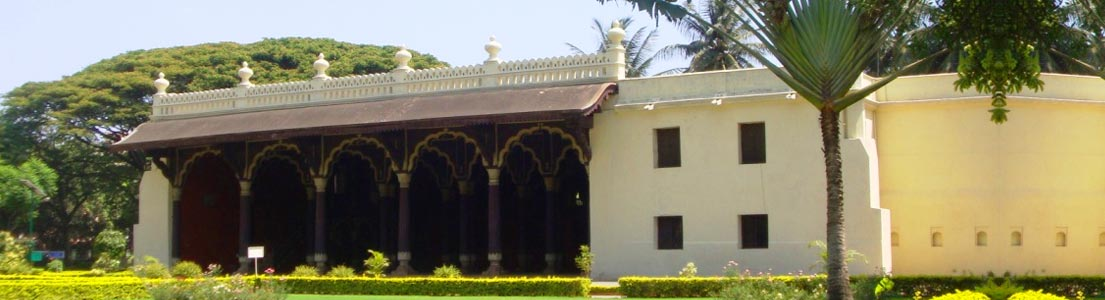 karnataka destination Tipu Sultan's Summer Palace