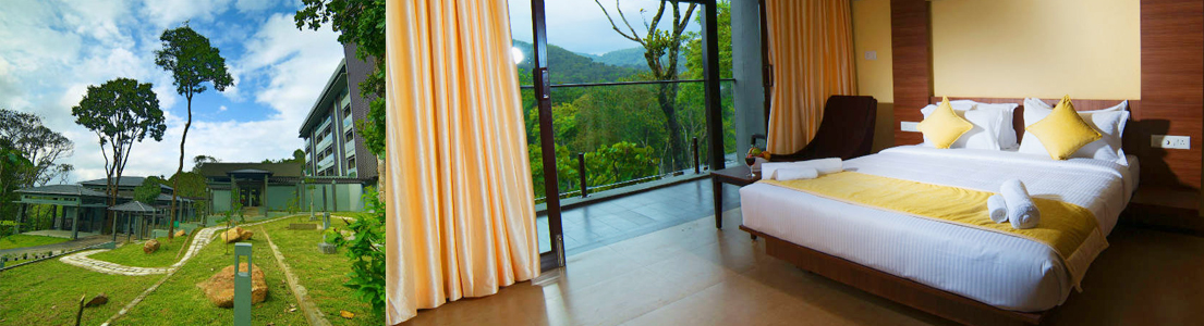 The Mountain Courtyard, Thekkady